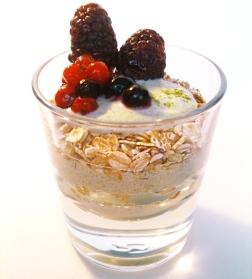 Ein gesunder Power-Joghurt für den geschmackvollen Start in den Tag